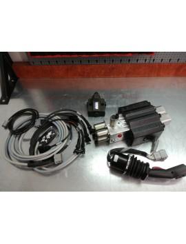 Joystick + proportional valve 90 l/min 12 V for loader