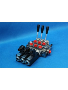 DIRECTIONAL CONTROL VALVE 2-SPOOL GALTECH 60 l/min 16 GPM