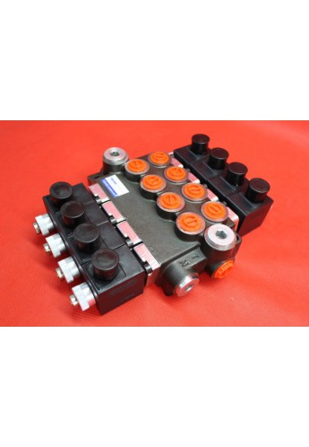 Directional control valve 4-spool hydraulic solenoid 50 l/min 13GPM 12VDC