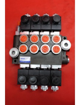 MONOBLOCK SECTIONAL VALVE 50 L/MIN 13 GPM SOLENOID WIRELESS CONTROL PANEL