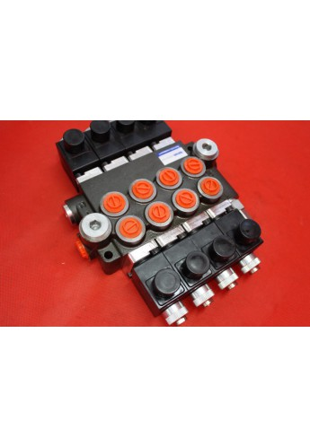 Directional control valve 7-spool hydraulic solenoid 80 l/min 21GPM 12VDC
