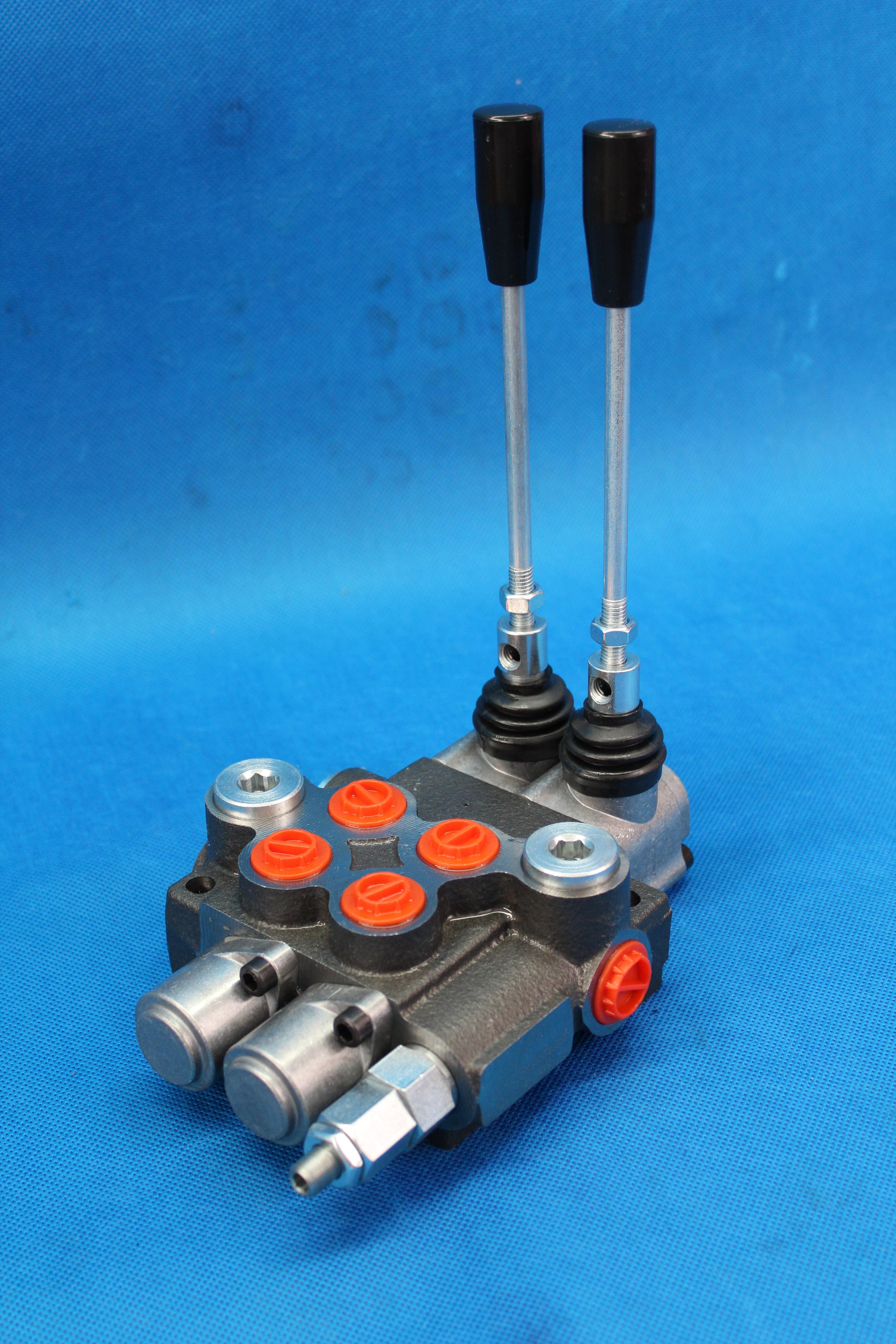 4 Spool Hydraulic Directional Control Valve 11Gpm 4300Psi Small Tractors 40l//min