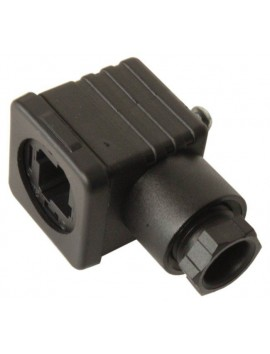 DIN PLUG 12 -24 V for hydraulic valve monoblock solenoid 3 pin