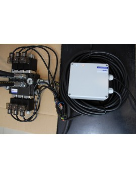 Monoblock directional control valve 40 l/min (11GPM) 3 spool double actiong + joystick