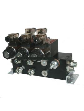 Hydraulic valve CETOP 3 Ssections 12 V 60 l/min