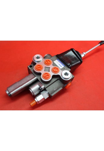 Monoblock directional control valve 40 l/min (11GPM) 2 section with joystick + swimming function