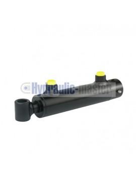 Cylinder actuator hydraulic power cylinder: length: 250mm jump: 100mm CJ2F-40/25/100