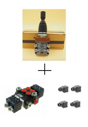 Electric Joystick Hydraulic Control