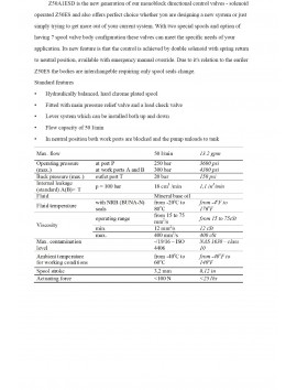 MONOBLOCK SECTIONAL VALVES  SOLENOID CONTROL 6 SPOOL 12V 50l/min 13