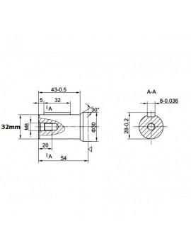 Orbital motor SMR 160 BMP 160 OMP 160 EMP 160  Shaft 25mm