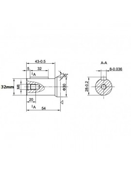 Orbital motor SMR 200 BMP 200 OMP 200 EMP 200  Shaft 25mm