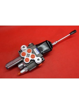 2 SPOOL HYDRAULIC FLOATING VALVE WITH JOYSTICK 40 l/min (11GPM) FLOATING SPOOL double actiong