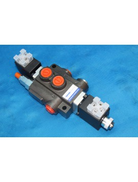 Directional control valve single spool hydraulic solenoid 50 l/min 13GPM 12VDC