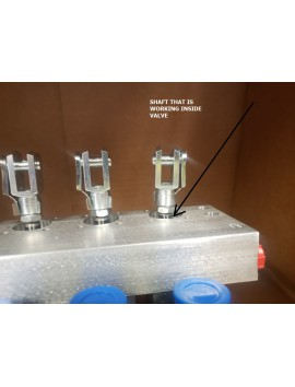 Piston shaft for actuator block MOD10 Scanreco A5000800050