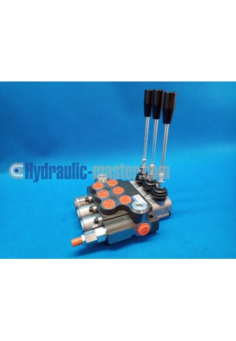 Monoblock directional control valve 40 l/min (11GPM) 1 spool double actiong