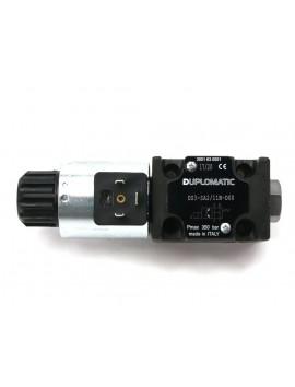 Duplomatic valve