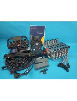 Scanreco 6 functions RC 400 6 manipulators 24V + Walvoil DPX 100 full proportional for drill retrofit