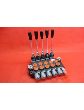 Monoblock directional control valve 40 l/min (11GPM) 5 spool double action
