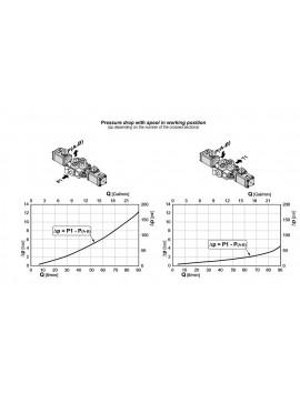 DIRECTIONAL CONTROL VALVE 2-SPOOL GALTECH 60 l/min 16 GPM