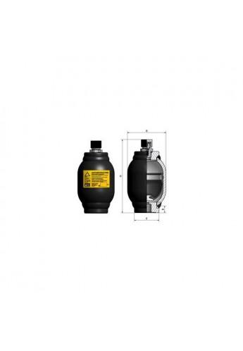 HYDROPNEUMATIC ACCUMULATOR H100R/LT  Po 90 bar HST 0.15 Liter