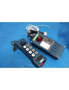 Remote Radio HM-Line 600 12V for 3 functions hydraulic valve