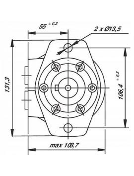 Orbital motor SMR 32 BMP 32 OMP 32 EMP 32