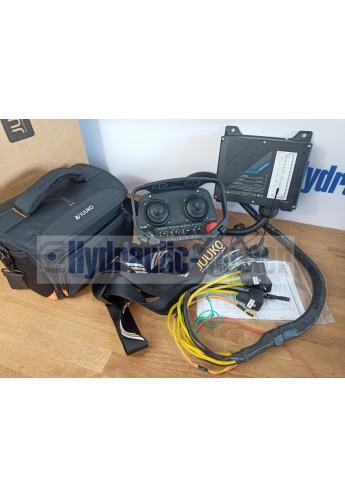 Radio remote JUUKO 24 V HS-20004PE WITH 2 joysticks on off