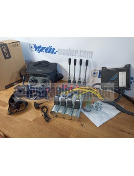 sterowanie radiowe Juuko model HS-M20004PE z 2 joystickami + valve Hm Line 90 l/min 12V