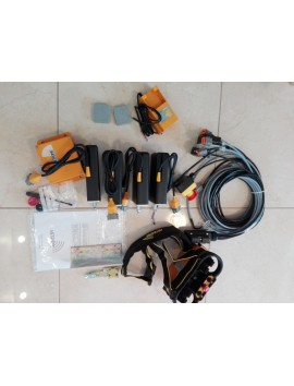 Hetronic Radio Remote Controller 4-function with actuators 24 V HIAB PALFINGER FASSI