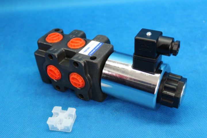 The electric over hydraulic joystick is simply an